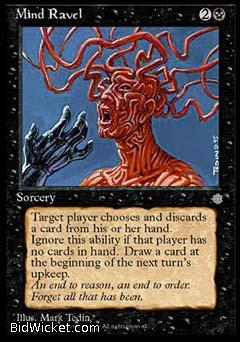 Mind Ravel, Ice Age, Magic the Gathering