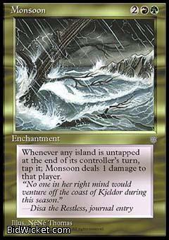 Monsoon, Ice Age, Magic the Gathering