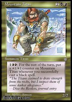 Mountain Titan, Ice Age, Magic the Gathering