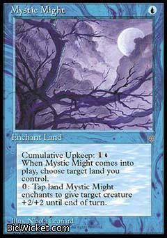 Mystic Might, Ice Age, Magic the Gathering