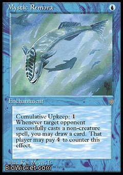 Mystic Remora, Ice Age, Magic the Gathering