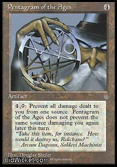 Pentagram of the Ages, Ice Age, Magic the Gathering