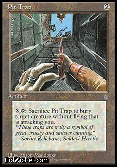 Pit Trap, Ice Age, Magic the Gathering