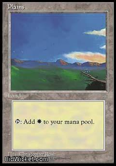 Plains C, Ice Age, Magic the Gathering