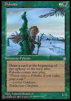 Pyknite, Ice Age, Magic the Gathering