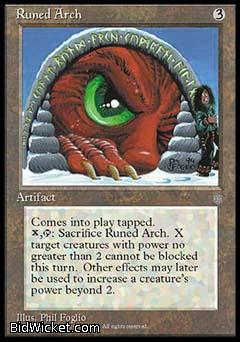 Runed Arch, Ice Age, Magic the Gathering