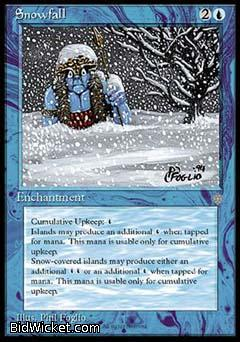 Snowfall, Ice Age, Magic the Gathering