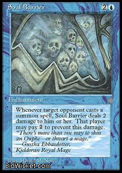 Soul Barrier, Ice Age, Magic the Gathering