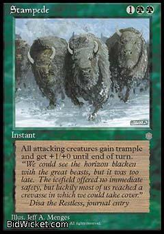 Stampede, Ice Age, Magic the Gathering