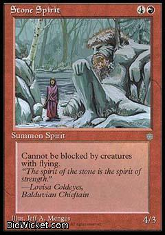 Stone Spirit, Ice Age, Magic the Gathering