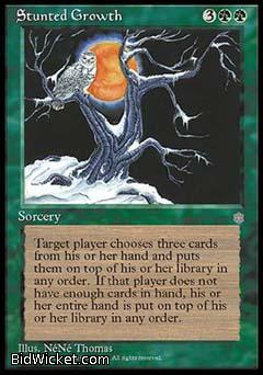 Stunted Growth, Ice Age, Magic the Gathering