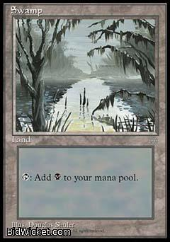 Swamp, Ice Age, Magic the Gathering