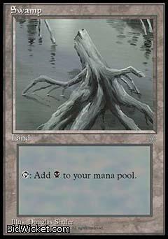 Swamp C, Ice Age, Magic the Gathering