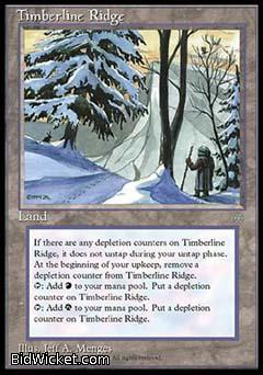 Timberline Ridge, Ice Age, Magic the Gathering