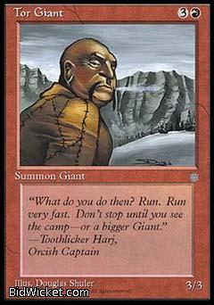 Tor Giant, Ice Age, Magic the Gathering