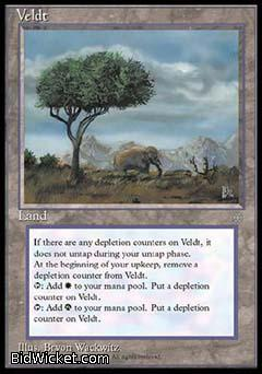 Veldt, Ice Age, Magic the Gathering