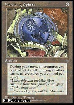 Vibrating Sphere, Ice Age, Magic the Gathering