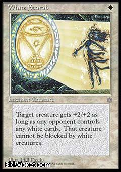 White Scarab, Ice Age, Magic the Gathering