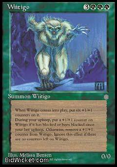 Wiitigo, Ice Age, Magic the Gathering