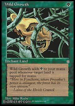 Wild Growth, Ice Age, Magic the Gathering