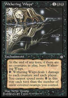 Withering Wisps, Ice Age, Magic the Gathering