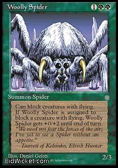 Woolly Spider, Ice Age, Magic the Gathering