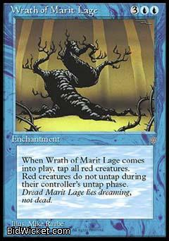 Wrath of Marit Lage, Ice Age, Magic the Gathering