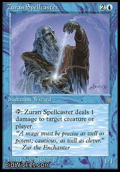 Zuran Spellcaster, Ice Age, Magic the Gathering
