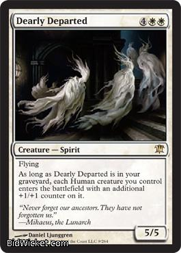 Dearly Departed, Innistrad, Magic the Gathering