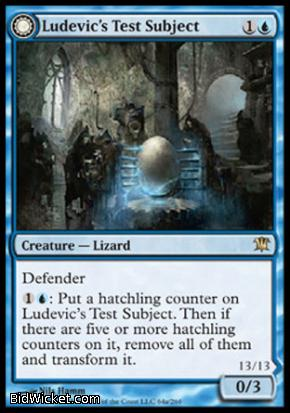 Ludevic's Test Subject (Ludevic's Abomination), Innistrad, Magic the Gathering