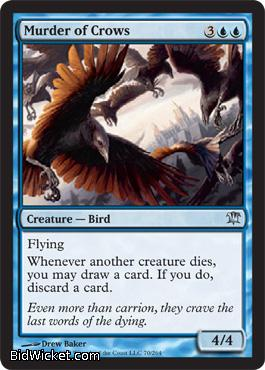 Murder of Crows, Innistrad, Magic the Gathering