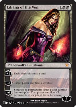Liliana of the Veil, Innistrad, Magic the Gathering