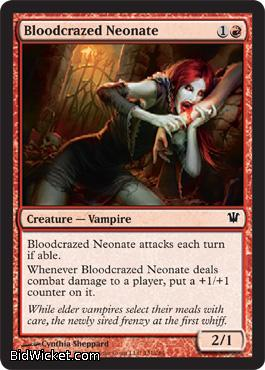 Bloodcrazed Neonate, Innistrad, Magic the Gathering