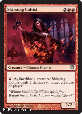 Skirsdag Cultist, Innistrad, Magic the Gathering