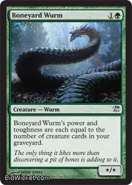 Boneyard Wurm, Innistrad, Magic the Gathering