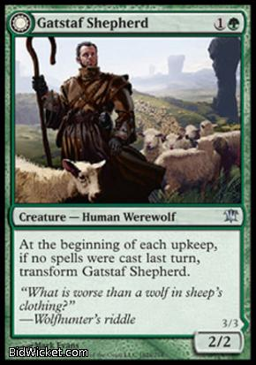 Gatstaf Shepherd (Gatstaf Howler), Innistrad, Magic the Gathering