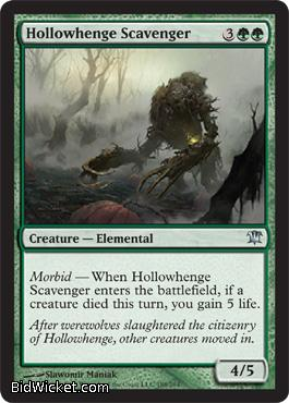 Hollowhenge Scavenger, Innistrad, Magic the Gathering