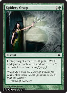 Spidery Grasp, Innistrad, Magic the Gathering
