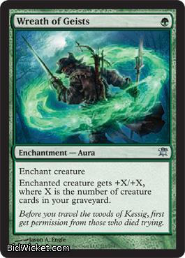 Wreath of Geists, Innistrad, Magic the Gathering