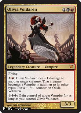 Olivia Voldaren, Innistrad, Magic the Gathering