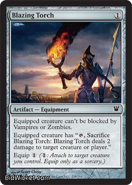 Blazing Torch, Innistrad, Magic the Gathering