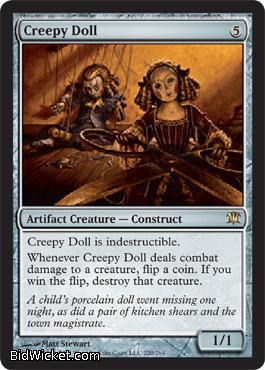 Creepy Doll, Innistrad, Magic the Gathering