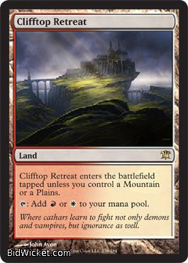 Clifftop Retreat, Innistrad, Magic the Gathering
