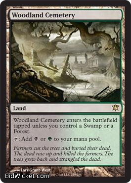 Woodland Cemetery, Innistrad, Magic the Gathering
