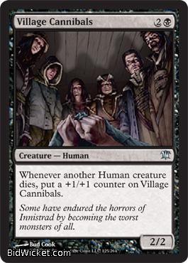 Village Cannibals, Innistrad, Magic the Gathering