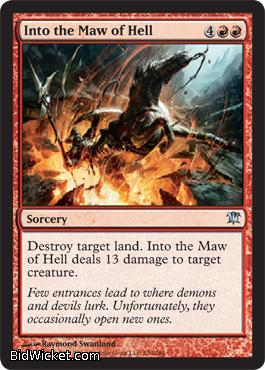 Into the Maw of Hell, Innistrad, Magic the Gathering
