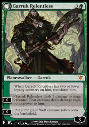 Garruk Relentless (Garruk, the Veil-Cursed), Innistrad, Magic the Gathering