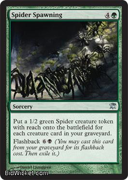 Spider Spawning, Innistrad, Magic the Gathering