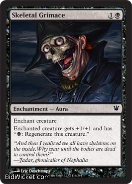 Skeletal Grimace, Innistrad, Magic the Gathering