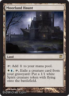 Moorland Haunt, Innistrad, Magic the Gathering